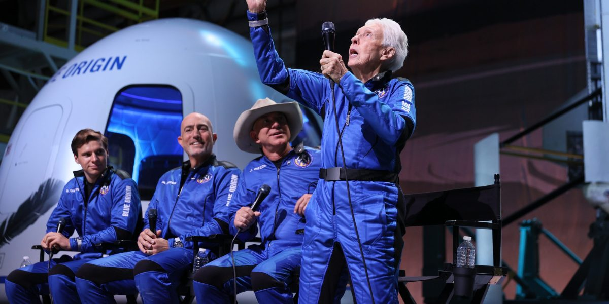 Even Jeff Bezos critics have to enjoy that Wally Funk lastly got her spaceflight thumbnail