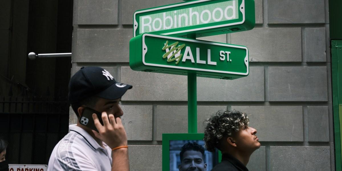 Robinhood's monster rally cools off while global stocks and Bitcoin gain ground