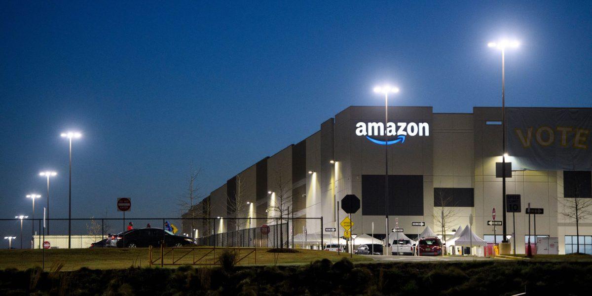 Amazon just keeps on hiring