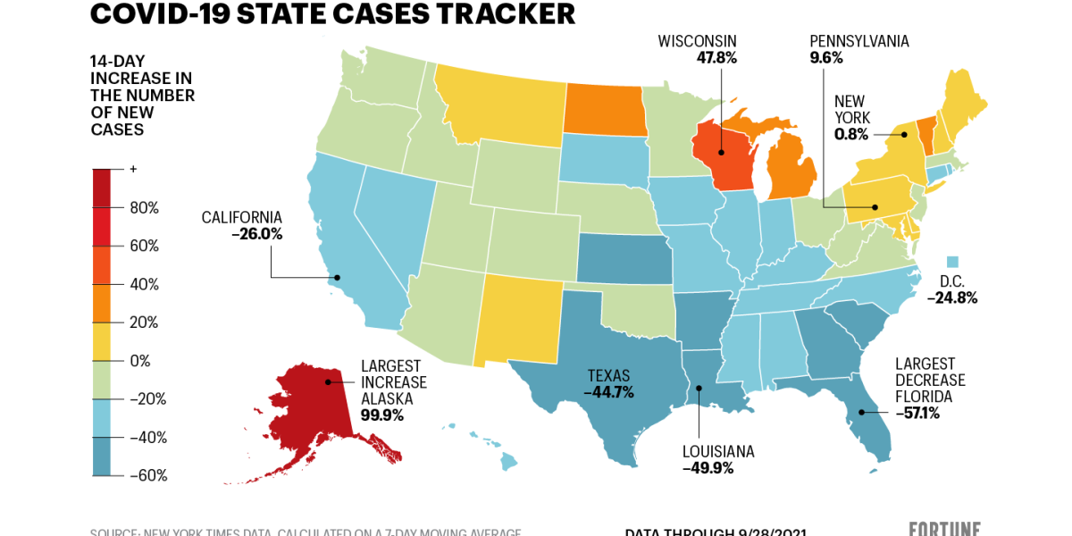 New U.S. COVID cases are down 20%. See how your state is doing thumbnail